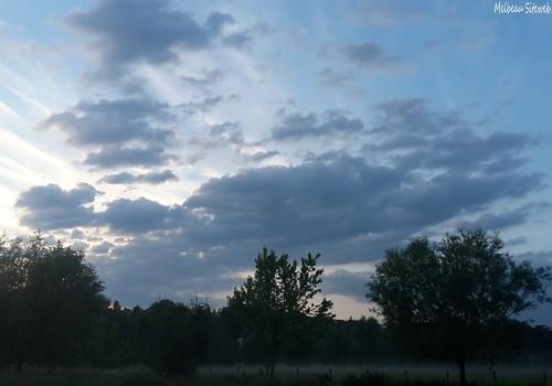 Après l'orage la douce accalmie du soir
