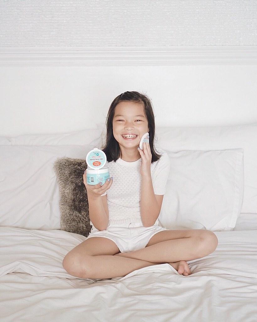 belo baby talc-free powder