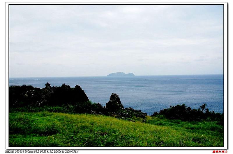 青青草原遠眺小蘭嶼