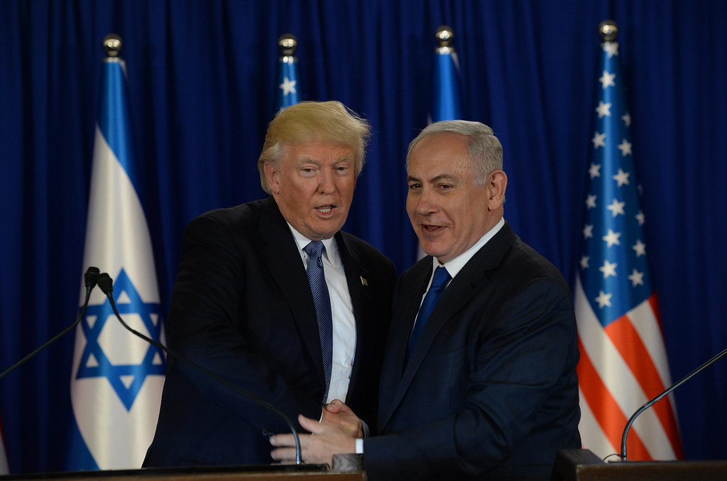 Image result for Trump \ Israel flag
