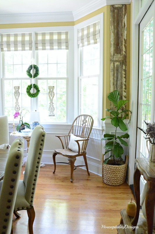 Dining Room-Fiddle Leaf Fig Tree-Housepitality Designs