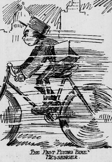 The Fast Flying Bike Messenger