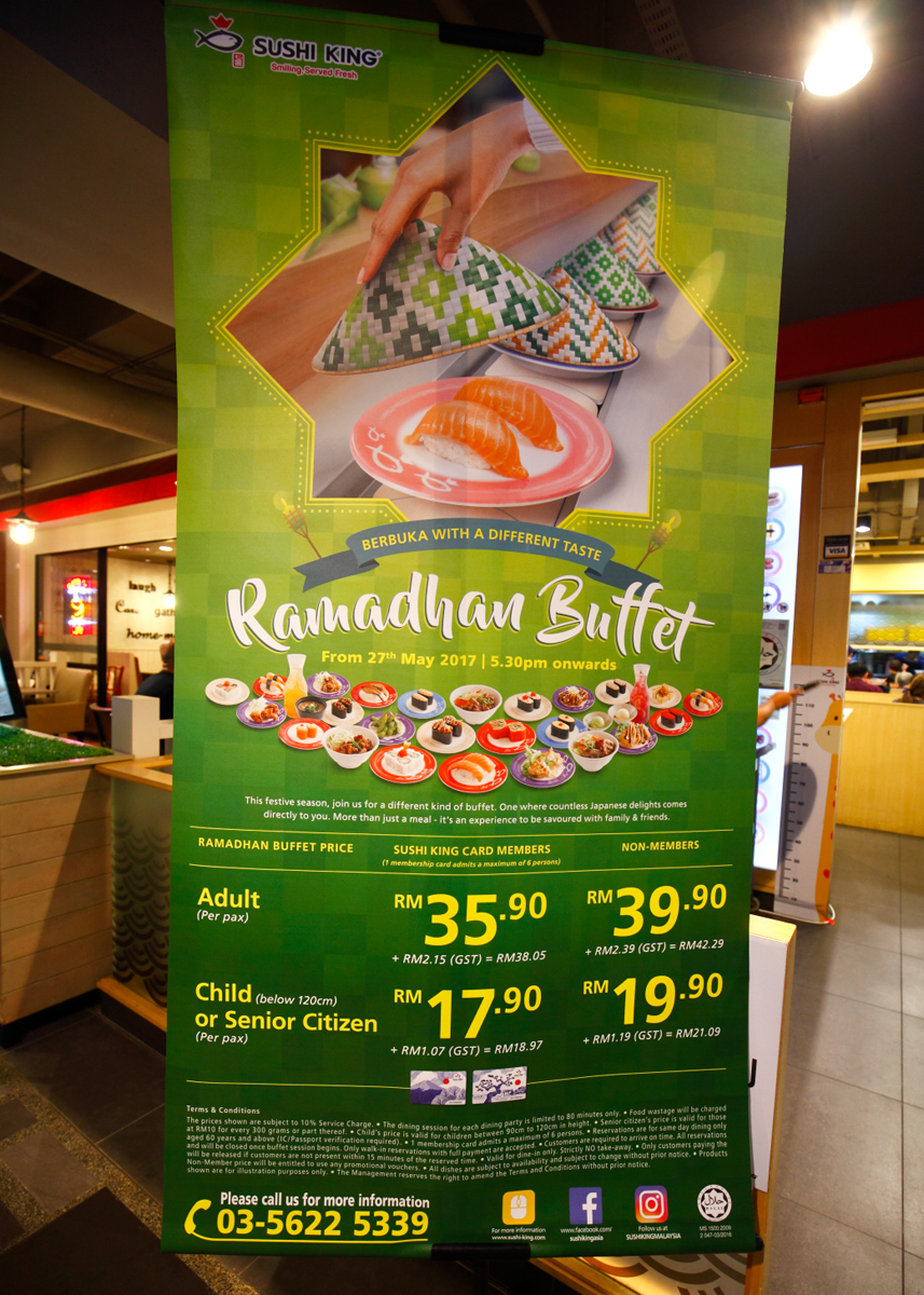 Sushi King Buffet Ramadhan Buffet Promotion