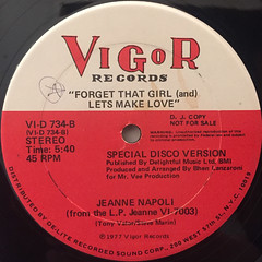 JEANNE NAPOLI:LET'S MAKE LOVE(LABEL SIDE-B)