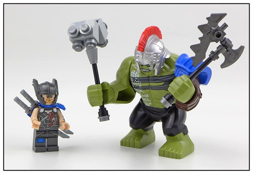 LEGO Marvel Super Heroes 76088 Thor vs. Hulk Arena Clash 11