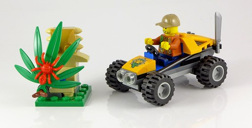 LEGO City 60156 Jungle Buggy 12
