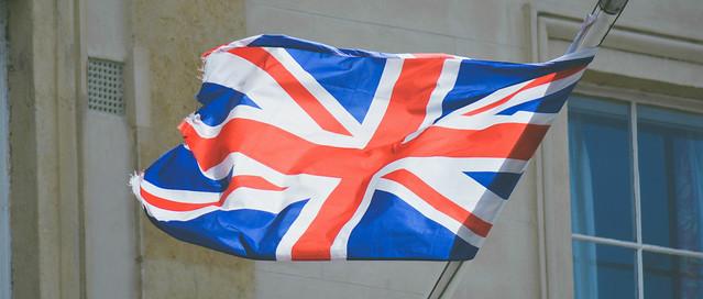 Union Jack UK election barometer