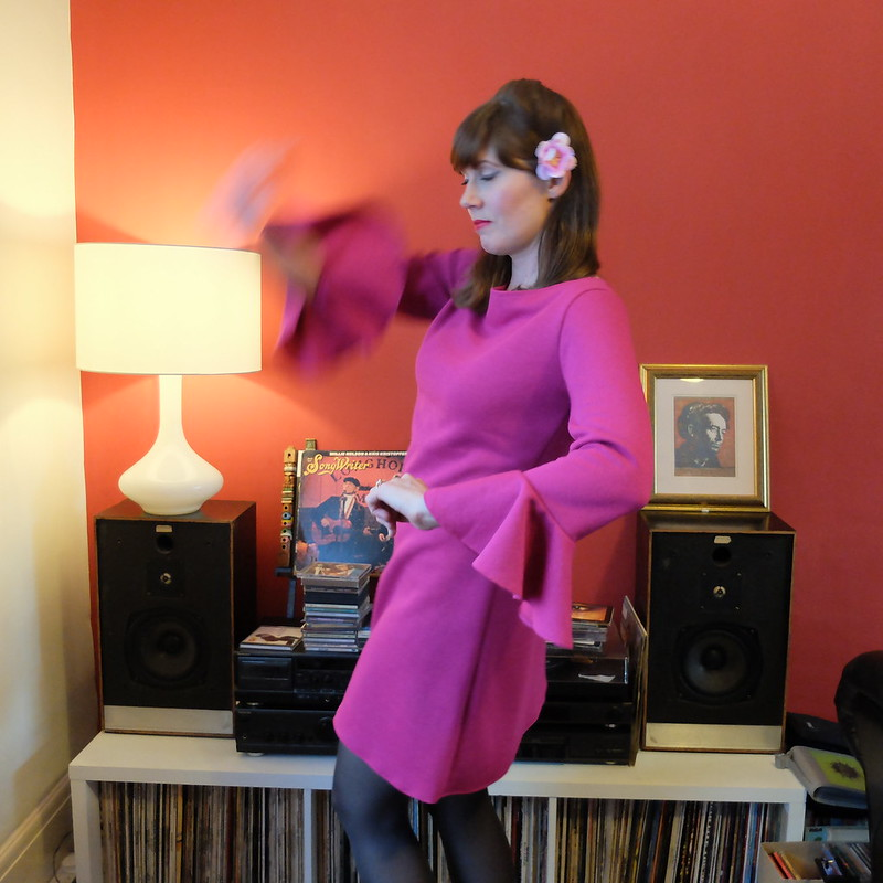 Coco Tilly and the Buttons with ruffle sleeve @porcelinasworld