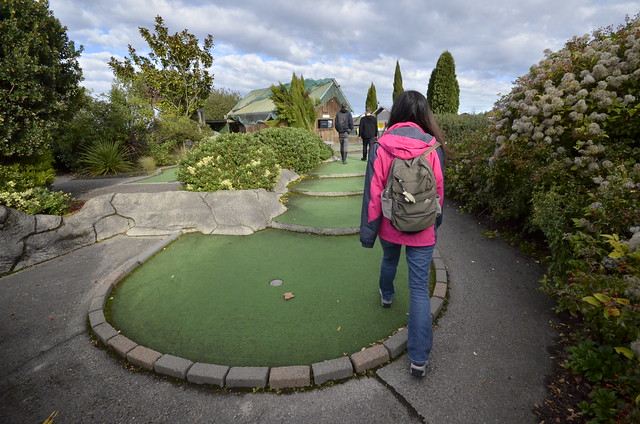 Abandoned and Derelict Minigolf, New Zealand.