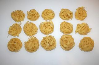 10 - Zutat Tagliatelle / Ingredient tagliatelle
