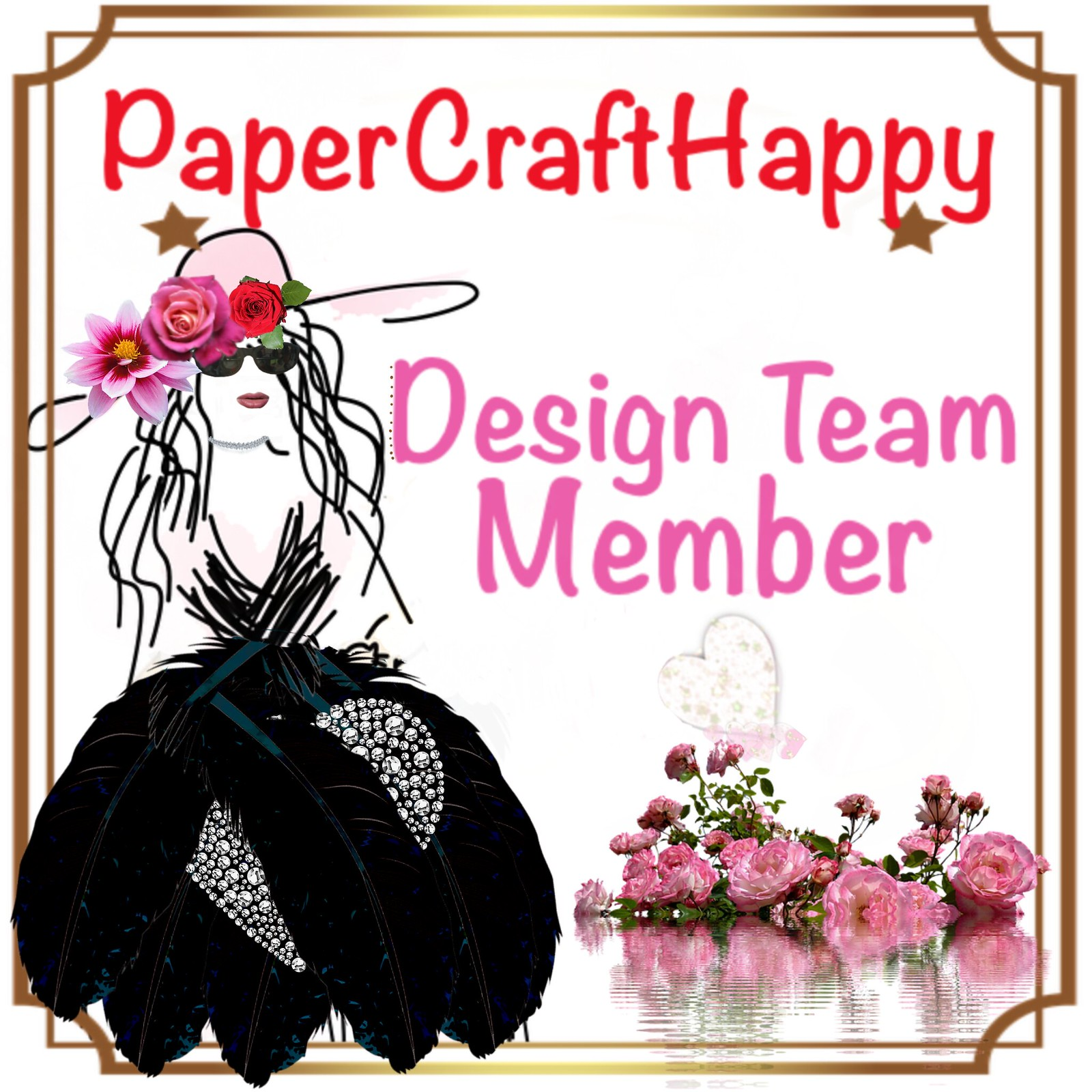 Paper Craft Happy