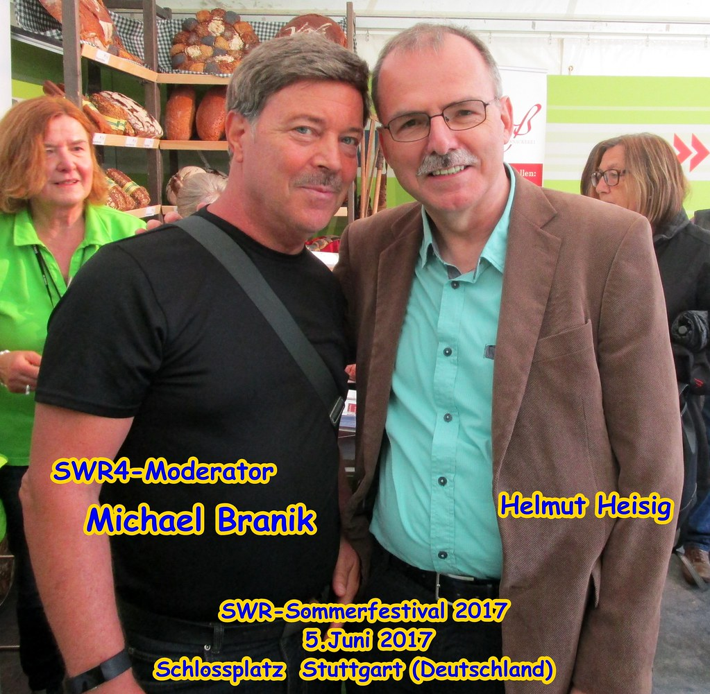 Len Stuttgart helmut heisig meets swr4 radio presenter michael branik j flickr