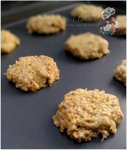 banana oatmeal cookies for kids (1)
