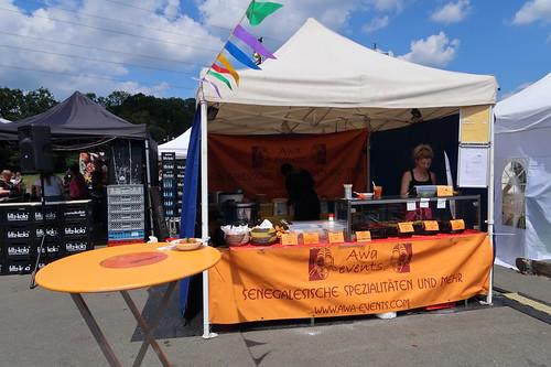 Awa = Senegalesische Spezialitäten Stand (auf dem Street Food Festival 2017 in Osnabrück)