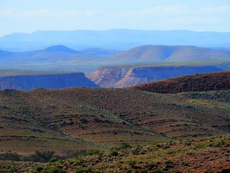 Northern Flinders Ranges near Copley, Outback South Australia