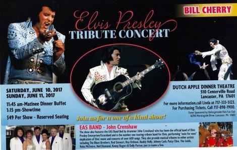 Elvis Tribute Concert 6-10-17, 6-11-17