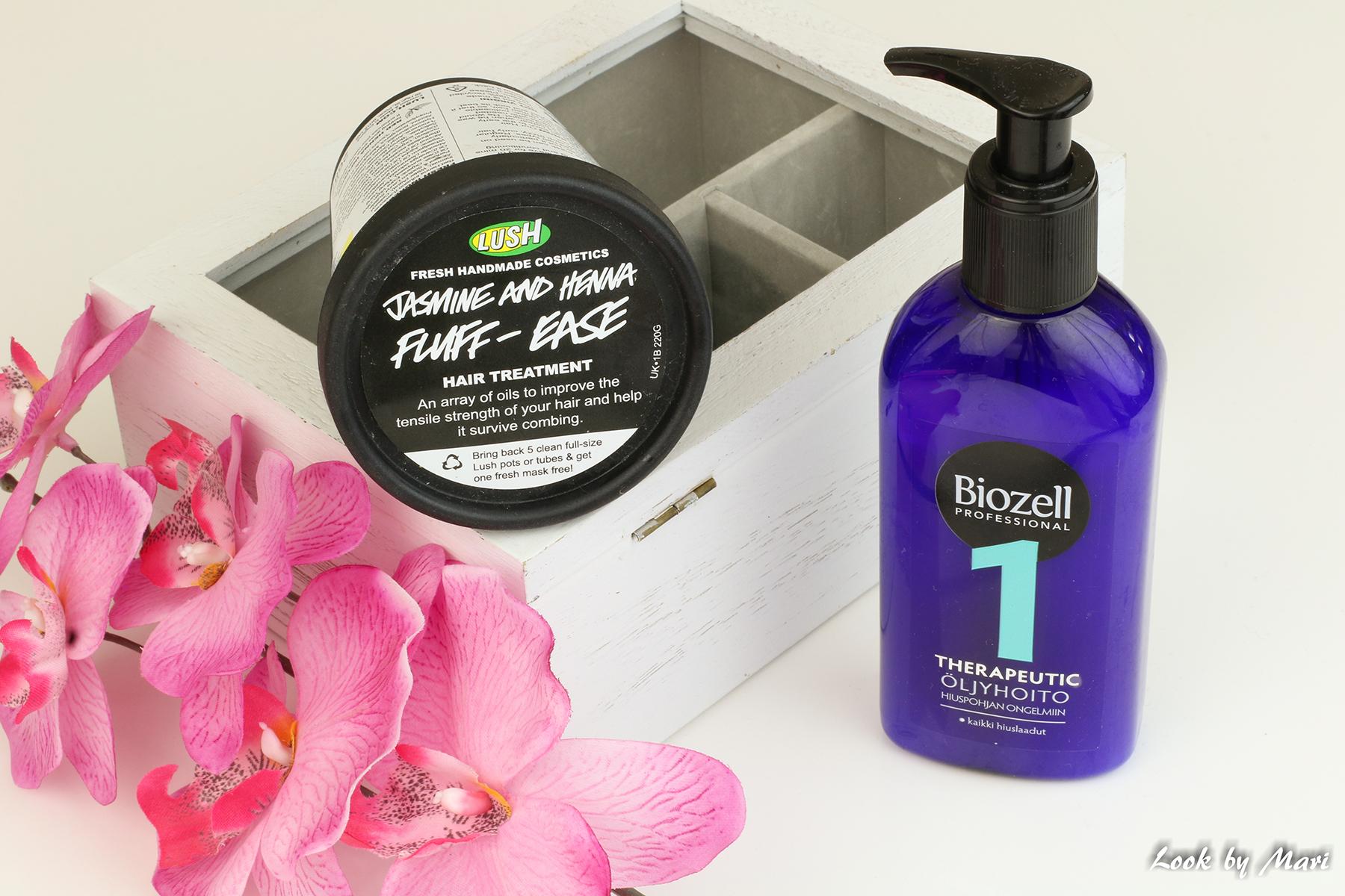 6 lush jasmine & henna fluff easy hair treatment kokemuksia review
