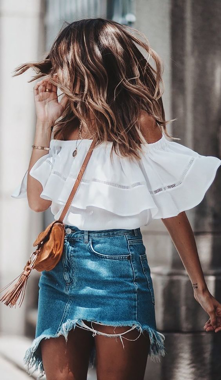 how to wear ruffles summer 2017 street style outfits fashion trend11