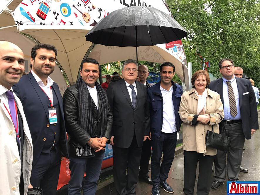 Moskova Krasnaya Presnya Parkı Türkiye Festivali