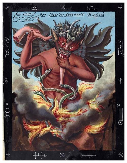 006- Representacion demoniaca-Compendium rarissimum…1775- Wellcome Library