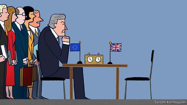 Brexit negotiations-Satoshi Kambayashi-The Economist