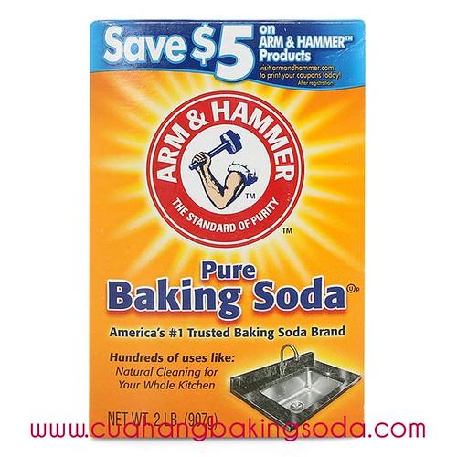 Baking soda tẩy rửa