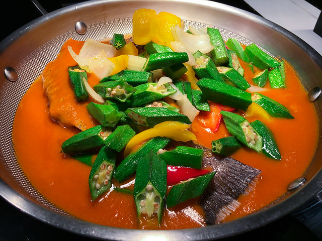 Lemon Garden Shangri-La - Curry Fish