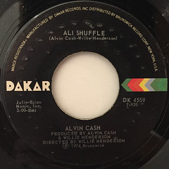 ALVIN CASH:DOING THE FEELING(LABEL SIDE-B)