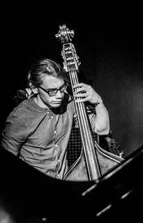 bass, big bang big band @ porgy & bess club, vienna, austria | by franzj