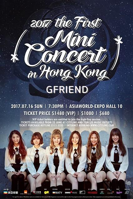 GFRIEND Mini Concert in Hong Kong