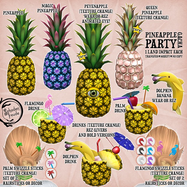 pineapple party gacha