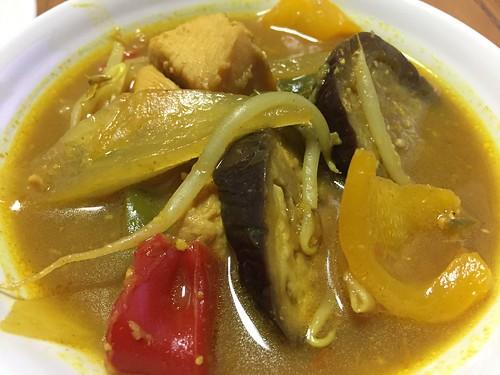 タイ風味噌カレー