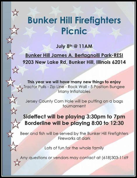 Burker Hill Picnic 7-8-17