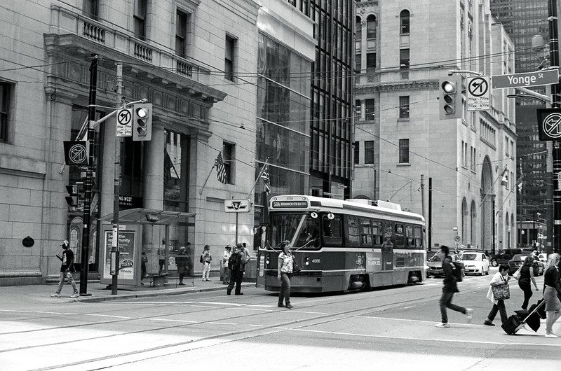 504 Car at Yonge St