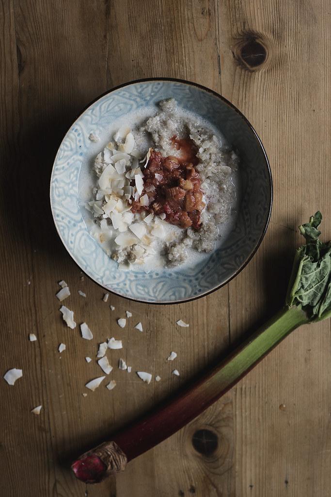 kvinoa kookos puuro