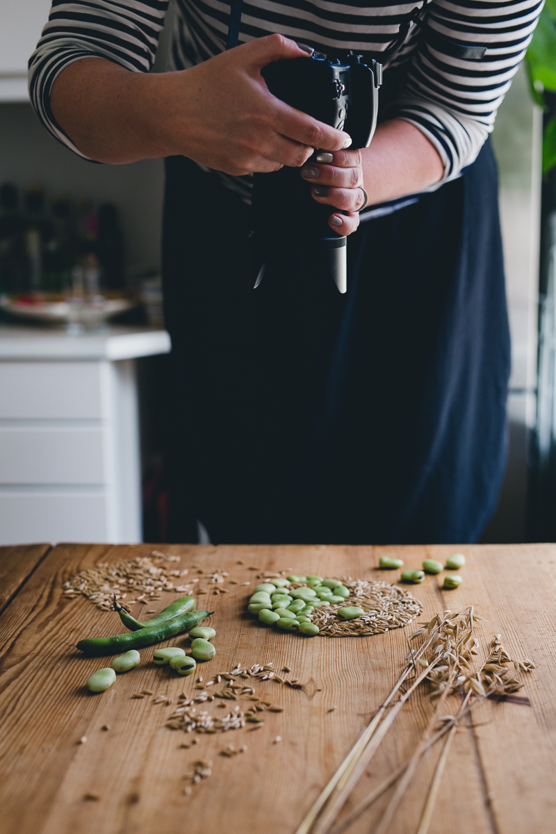 Styling and shooting recipes with @poppyloveyou | Cashew Kitchen