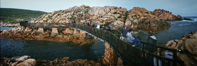 Photographer crush on Fisherman's Bridge at Canal Rocks