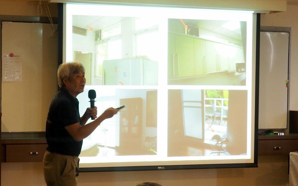 民眾建議應透過電價優惠來鼓勵民眾改造居家建築節能。攝影:李育琴。