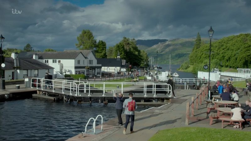 The Loch Fort Augustus