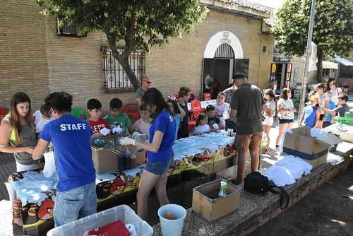 Juegos infantiles organizado por la A.V. Las Portadas