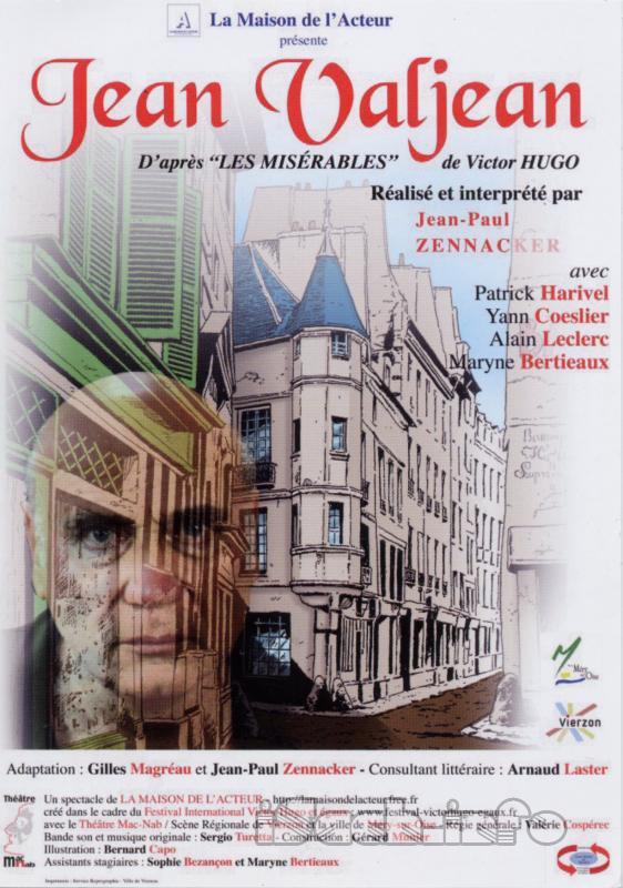 Jean Valjean - Victor Hugo