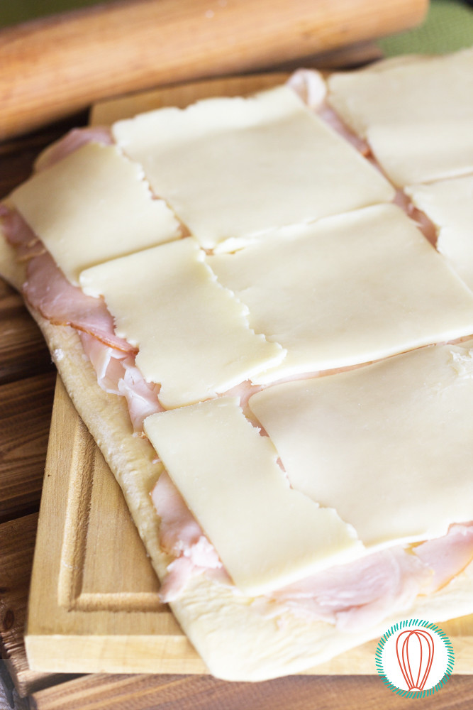 Ham & Cheese Rolls