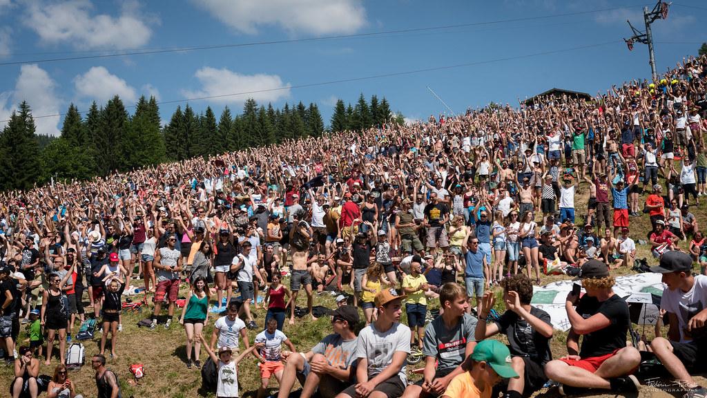 Un public massif