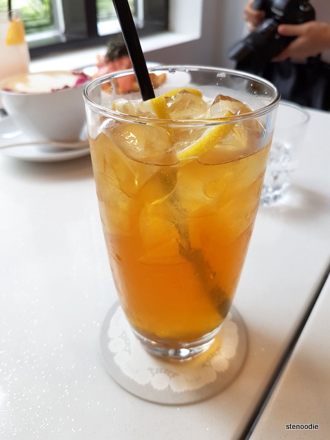 Iced Honey Green Tea