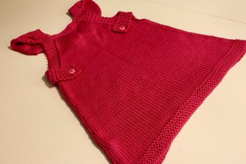 Paige's pink dress