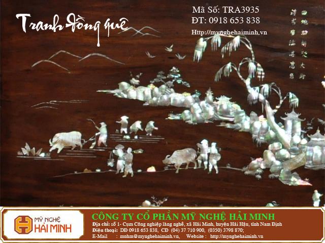tranhdongque TRA3935d