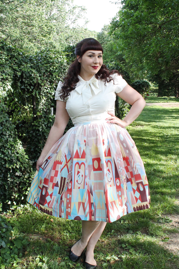 atomic jax small world skirt