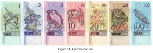 Real banknotes
