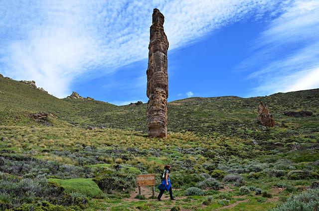 Piedra Clavada, Valle Lunar, Chile Chico, Chile