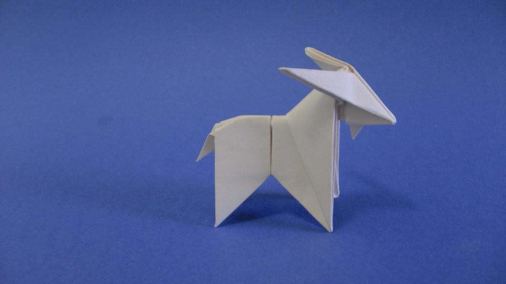Origami Goat Peterpaul Forcher Design By Peterpaul Forch Flickr